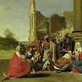 Adoration Of The Magi, Circle Of Bartholomeus Breenbergh by Litz Collection