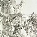 Adoration Of The Magi by Giovanni Battista Tiepolo