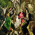 Adoration Of The Shepherds by El Greco Domenico Theotocopuli