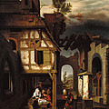 Adoration Of The Shepherds by Nicolaes Maes