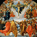 Adoration Of The Trinity  by Albrecht Duerer