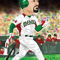 Adrian Gonzalez Team Mexico by Jeremy Nash