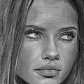 Adriana Lima 2 by David Rives