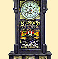 Advertising Clock by Dave Mills