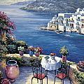Aegean Vista by John Zaccheo