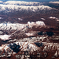Aeial View Of The Snowy Mountains by Jenny Rainbow