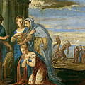 Aeneas Taking Leave Of Dido by Andrea Schiavone