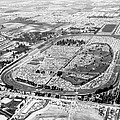 Aerial Of Indy 500 by Underwood Archives
