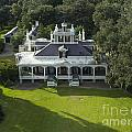 Aerial Of Jefferson Mansion by Kelly Morvant