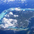 Aerial Over Atoll by M Swiet Productions