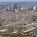 Aerial Philadelphia by Olivier Le Queinec