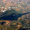 Aerial Photography - Hill Like A Big Mouse  by Justyna JBJart