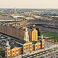 Aerial View Of A Baseball Stadium by Panoramic Images