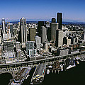 Aerial View Of A City, Seattle by Panoramic Images