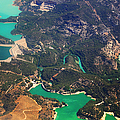 Aerial View Of Andalusia. Spain by Jenny Rainbow