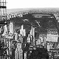 Aerial View Of Central Park by Underwood & Underwood