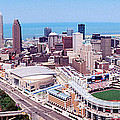 Aerial View Of Jacobs Field, Cleveland by Panoramic Images