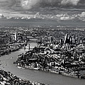 Aerial View Of London 4 by Mark Rogan