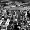 Aerial View Of London 5 by Mark Rogan