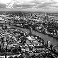 Aerial View Of London by Mark Rogan