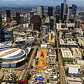 Aerial View Of Los Angeles by Mountain Dreams