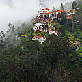 Aerial View Of Monserrate Church by Jess Kraft