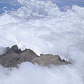 Aerial View Of Mt Kinabalu Borneo by Konrad Wothe