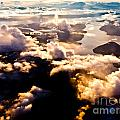 Aerial View Of Pacific Coast Of Bc Canada by Stephan Pietzko