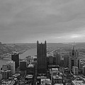 Aerial View Of Pittsburgh by Cityscape Photography