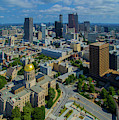 Aerial View Of Skyline And Georgia by Panoramic Images