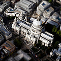 Aerial View Of St Pauls Cathedral by Mark Rogan