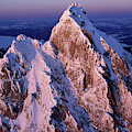Aerial View Of The Grand Teton by David Stubbs