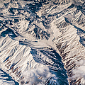 Aerial View Of The Mountains by Jenny Rainbow