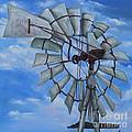 Aermotor Windmill by Kristine Kainer