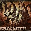 Aerosmith - Back In The Saddle by Absinthe Art By Michelle LeAnn Scott