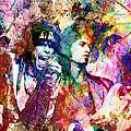 Aerosmith Original Painting by Ryan Rock Artist