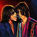 Aerosmith Toxic Twins Painting by Paul Meijering