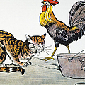 Aesop: Cat, Cock, And Mouse by Granger