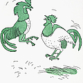 Aesop: Cocks Fighting by Granger