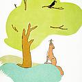 Aesop: Fox & Crow by Granger
