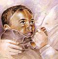 African Baby by Miki De Goodaboom