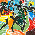 African Dancers No. 3 by Elisabeta Hermann