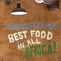 African Food by Randy Pollard