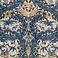African Marigold Design by William Morris