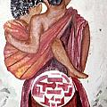 African Mother N Child by Kalikata MBula