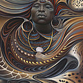 African Spirits I by Ricardo Chavez-Mendez