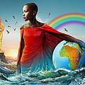 The Lupita Tsunami by Anthony Mwangi