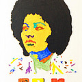 Afro Pam Grier by Stormm Bradshaw