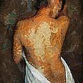 After A Bath by Dragica  Micki Fortuna
