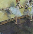 After Degas 2 by Dorothy Siclare